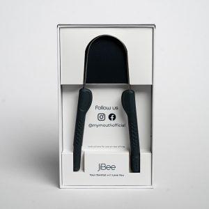 black jibee tongue cleaner dental hygiene