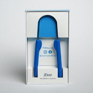 blue jibee tongue cleaner dental hygiene